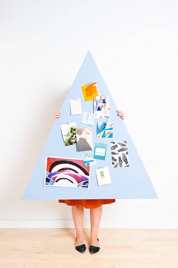 DIY space-saving Christmas tree that converts for year round use
