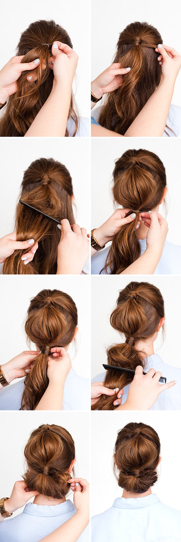 Simple Holiday Hair Two Ways in 10 Minutes #holidayhair #hairtutorial #holidaybeauty #updo
