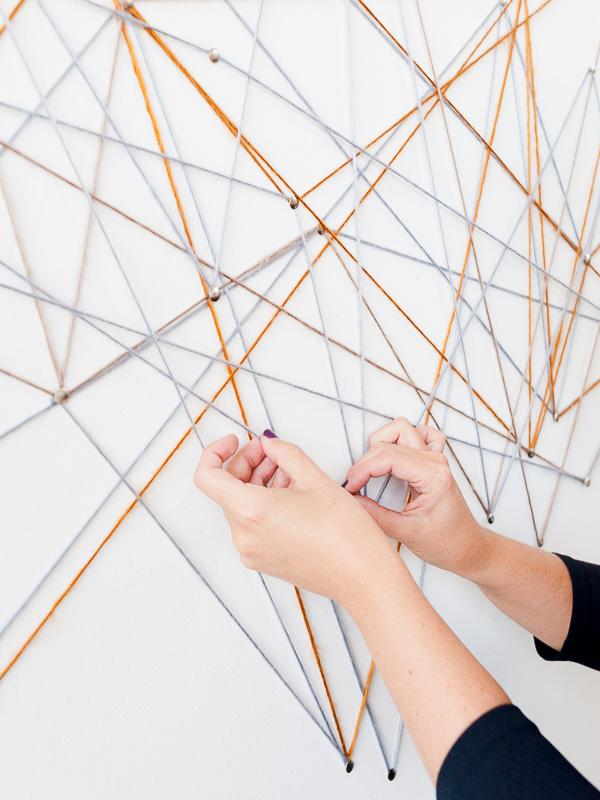 DIY string art idea