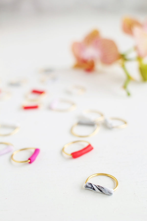 DIY tube rings from Fall for DIY (and 40+ other DIY holiday gift ideas that don't suck)