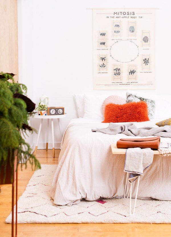 Be My Guest An Organic Modern Guest Bedroom Makeover