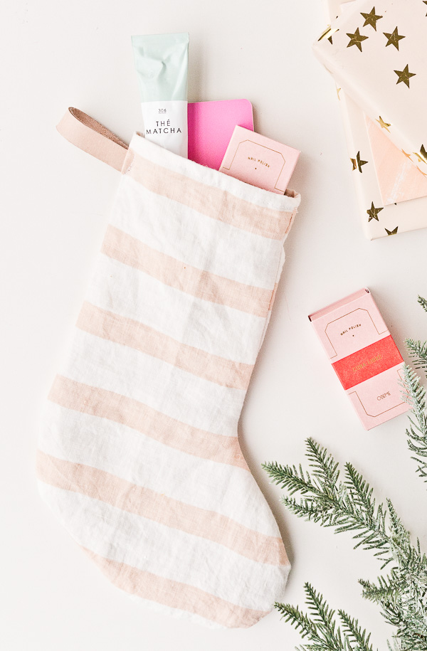 Stocking Up: How to Make DIY Holiday Stockings with Old Tea