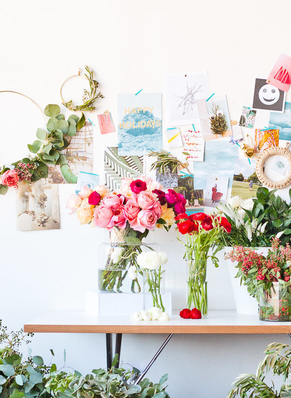 A Holiday Style Guide + Wreath Workshop