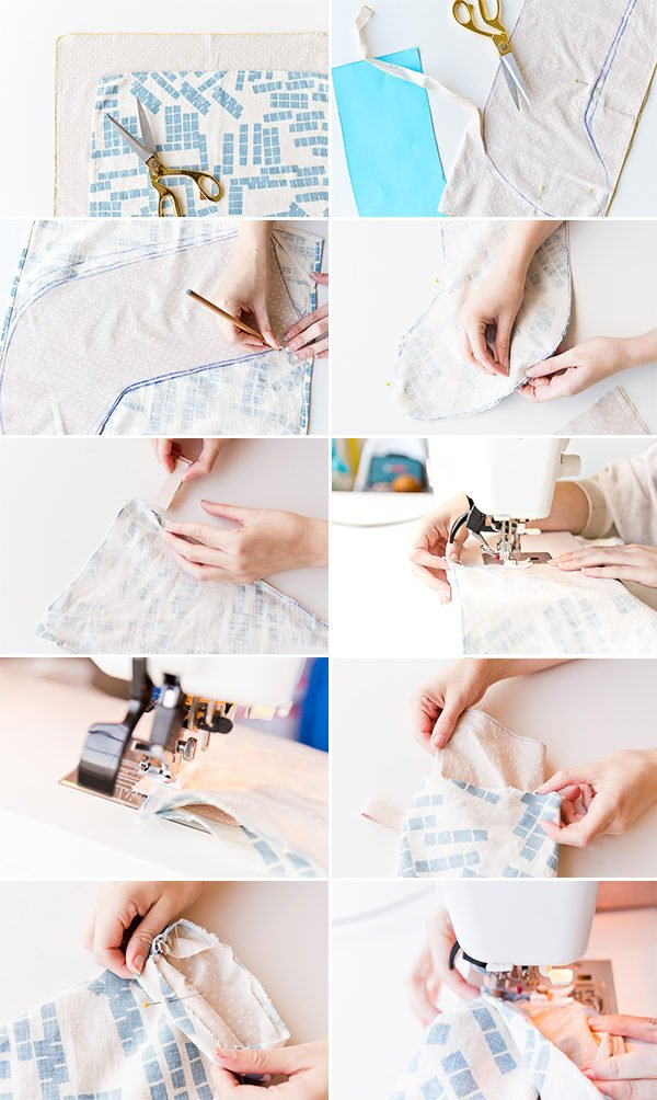 How to make handmade holiday stockings