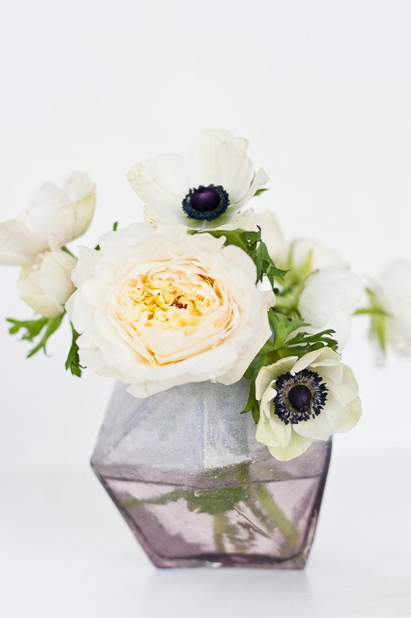 Airbrushed vase DIY