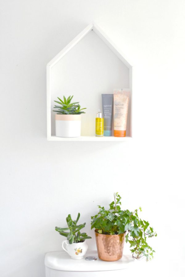 17 Ways to Organize Your Life for the New Year: DIY House Shelves
