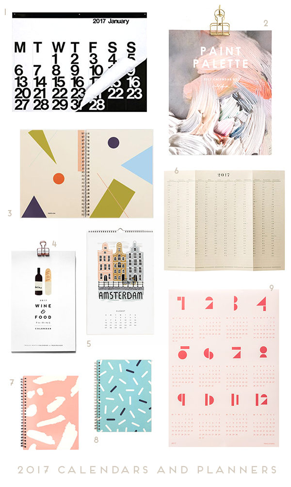 The Procrastinators Guide to 2017 Calendars and Planners
