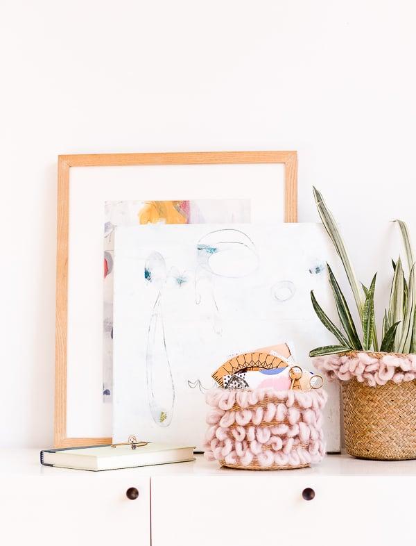 33 Ways to Organize Your Life: DIY Basket Storage. #organization #organized