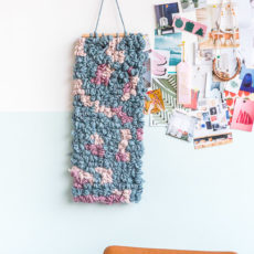 Weave Theive: DIY Wall Art Weaving Hack