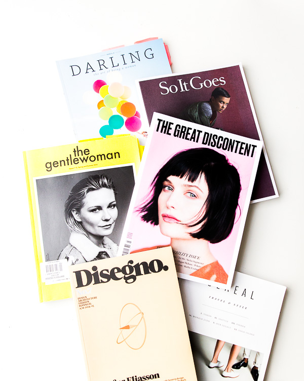 23 Magazines I Pick Up When I Need Inspiration - Paper and