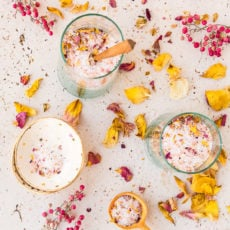 Everything's Coming up Roses: How to Make DIY Rose Petal Bath Salts