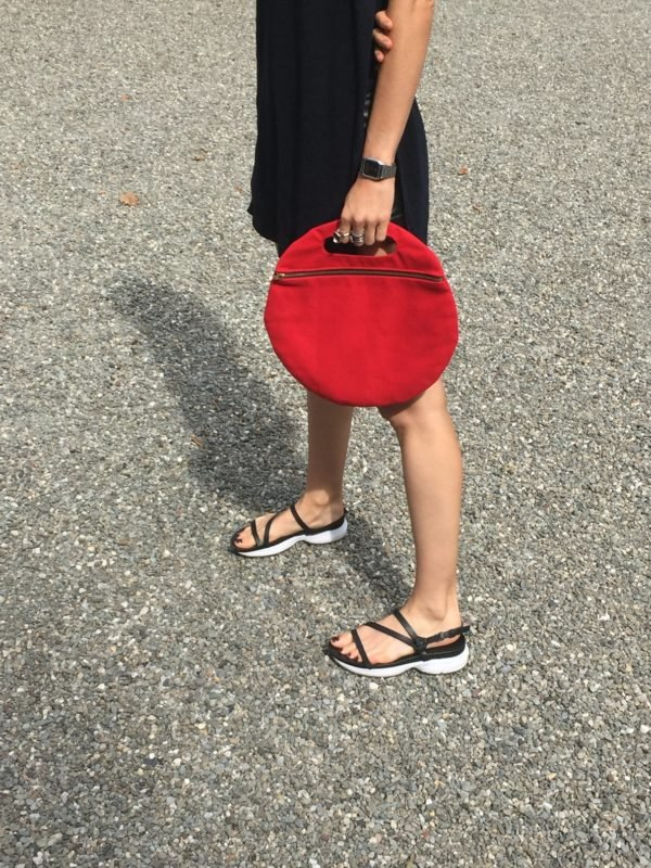 Lotfi arches circle clutch from Beklina - Only $65!