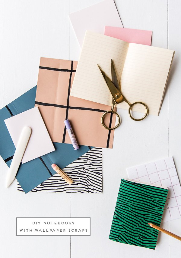 DIY Notebooks in 5 Minutes on Paper & Stitch
