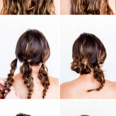 How to Hack Your Way to an Easy Updo in 10 Minutes: A Valentine's Day Hair Tutorial