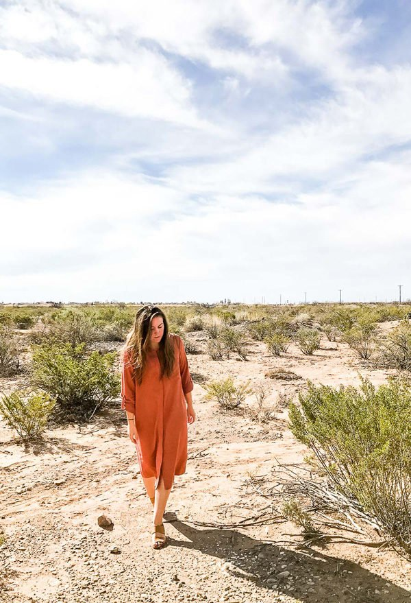 Brittni Mehlhoff of Paper & Stitch share her trip to New Mexico and White Sands.