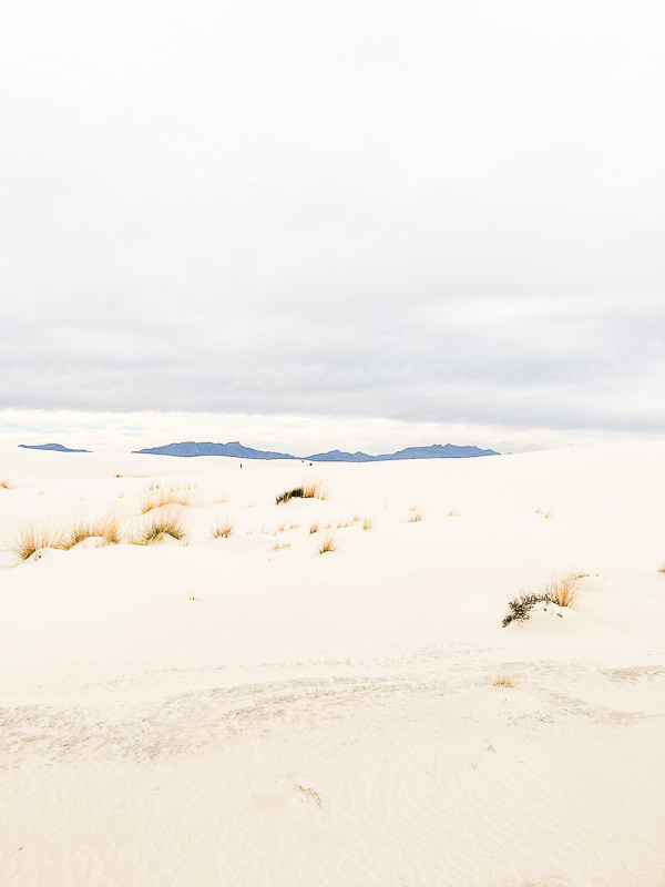 A quick trip to White Sands, New Mexico.