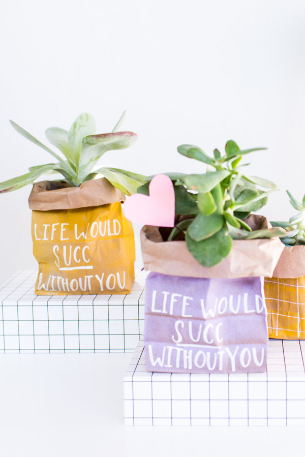 These budget-friendly DIY Valentines only take a few minutes to make.