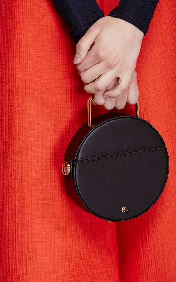 The definitive guide to circle bags, on Paper & Stitch. This one is from Rachel Comey.