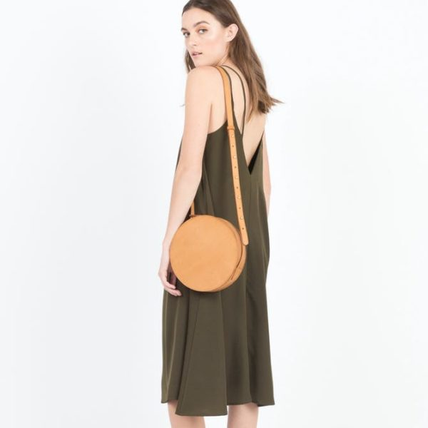 Modern Citizen cartagena leather circle bag from Spring
