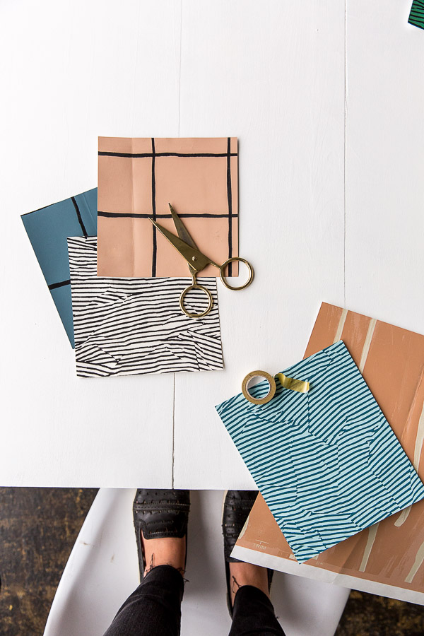 Behind the scenes paper project with Brittni Mehlhoff of Paper & Stitch.