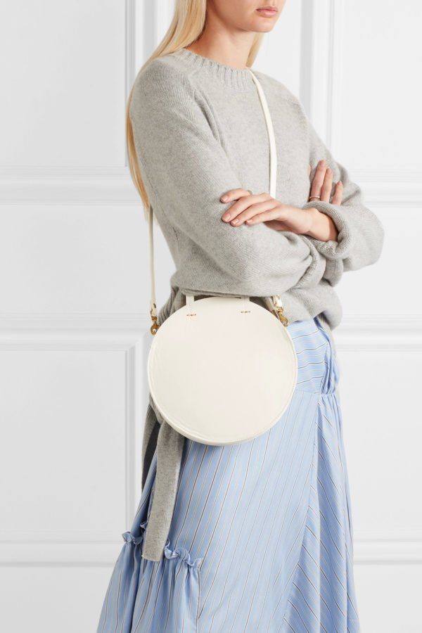 This Clare V alistair petite bag is perfect for spring.