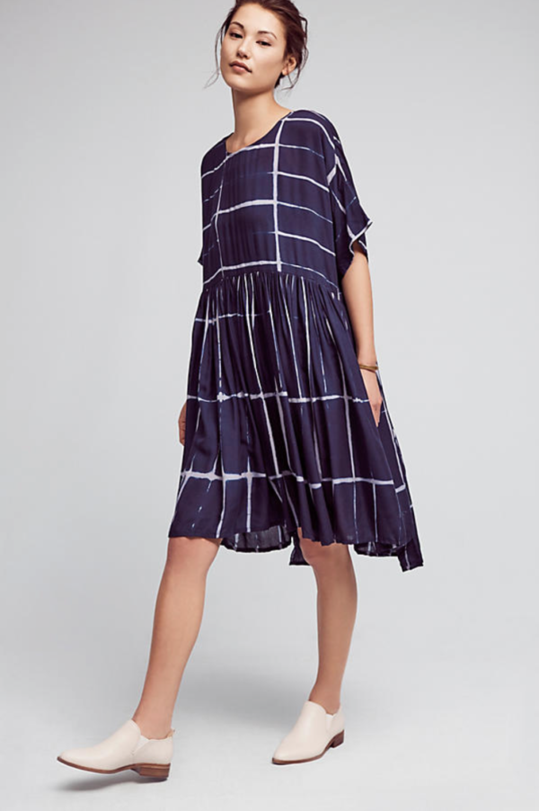 swing dress from Anthropologie