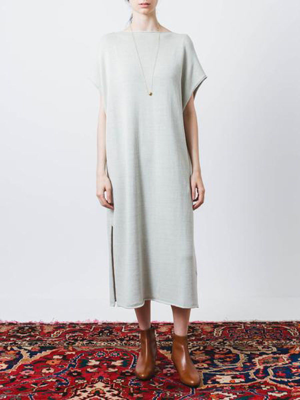 Grey captain dress from Frances May.