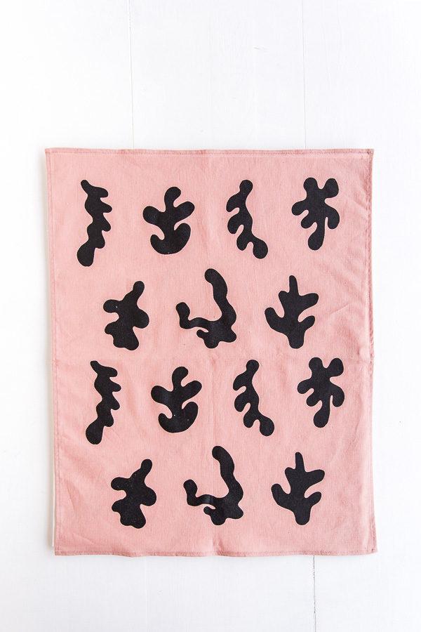 Matisse inspired tea towel as DIY art hack