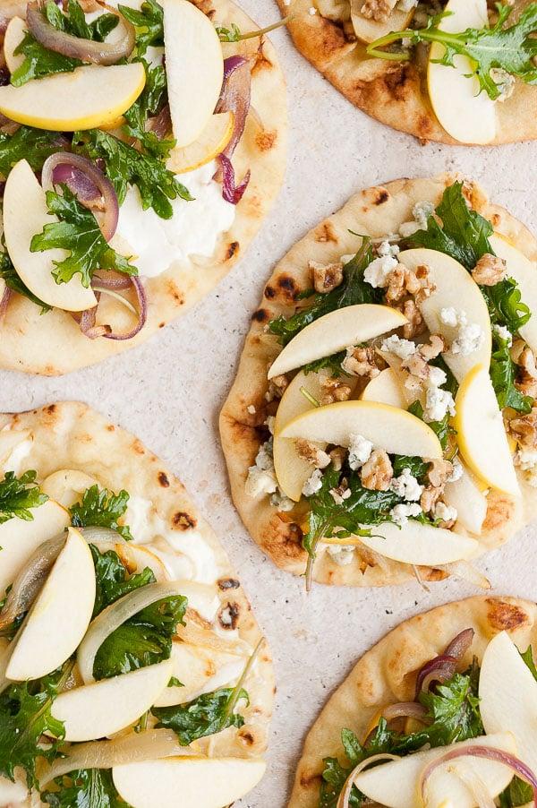 Naan Flatbread Pizza 3 Ways