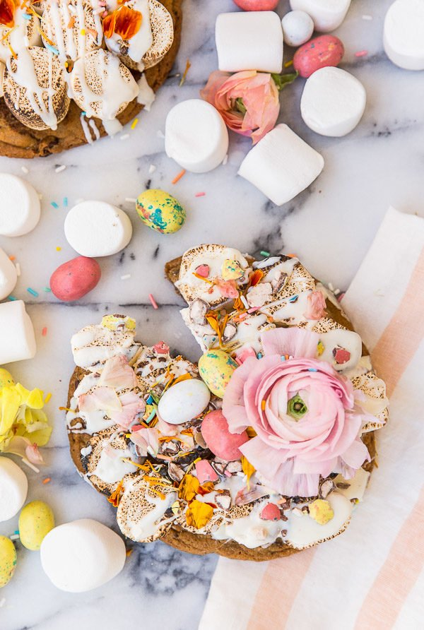 Sugar Rush: A Pastel S'more Pizza Recipe for Spring / Easter (with ...