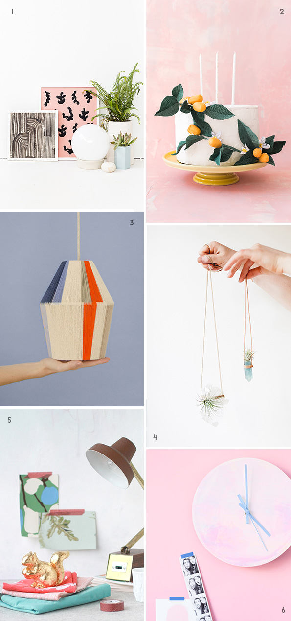 Love these DIY ideas for weekend projects.