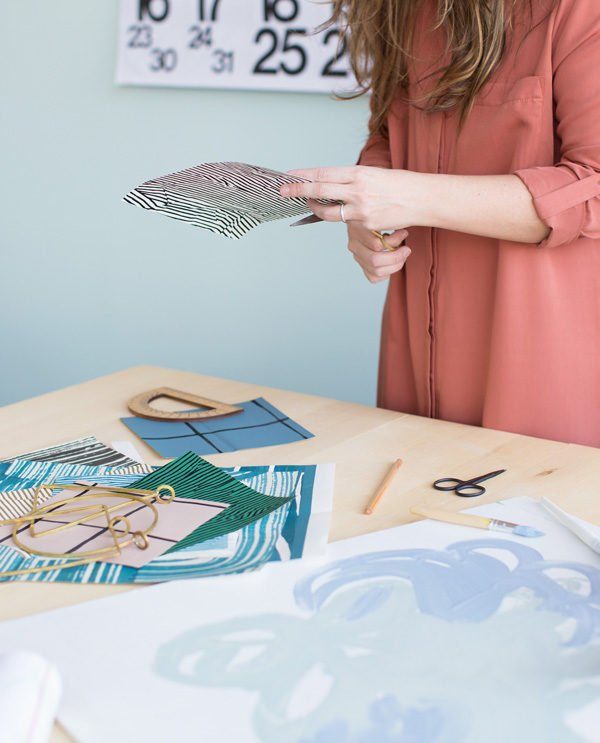 Behind the scenes with Brittni Mehlhoff of Paper & Stitch