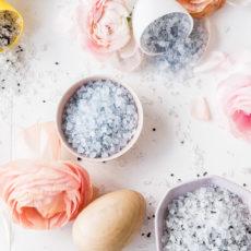 Don't Be Salty: DIY Bath Salt Easter Egg Bombs