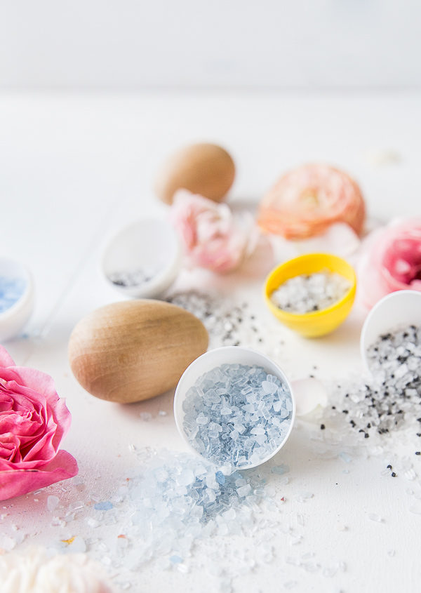 Don't Be Salty: DIY Bath Salt Easter Egg Bombs