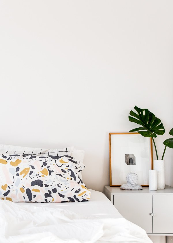 Easy tutorial for how to make standard pillowcases with any fabric.