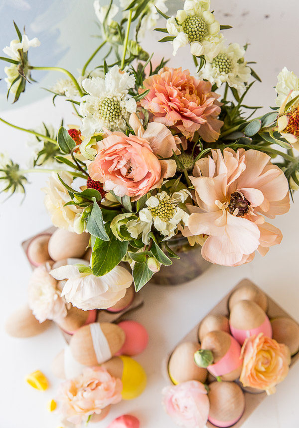 Pretty floral arrangement for spring