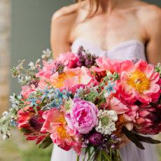 Pastels + Peonies: A DIY Bridal Bouquet + Pastel Wedding Inspiration