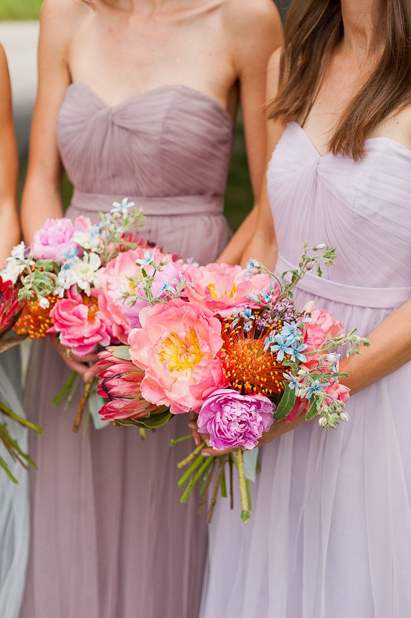 A DIY Bridal Bouquet + Pastel Wedding Inspiration