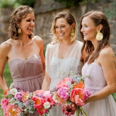 Pastels + Peonies: A DIY Bridal Bouquet + Pastel Wedding Inspiration