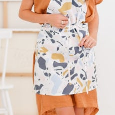 Sew Easy: How to Sew a DIY Apron in 10 Minutes