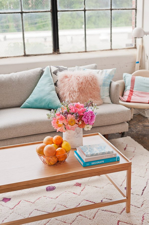 How to style a coffee table (for the minimalist).