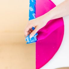 Mirror, Mirror, on the Wall: An Easy Color Blocked Mirror DIY for the Entryway