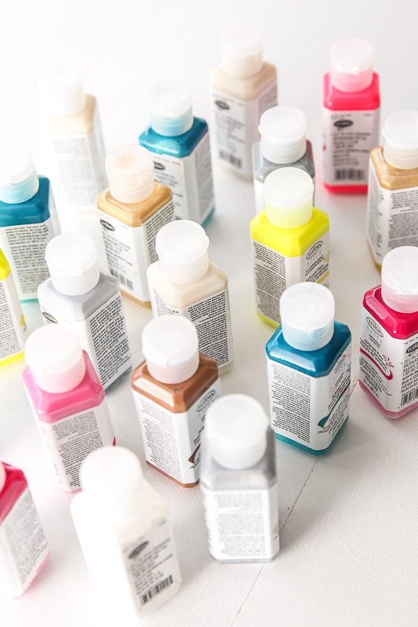 Airbrushing paints