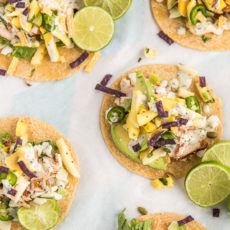 Taco Time: Pineapple Mango Chicken Tacos