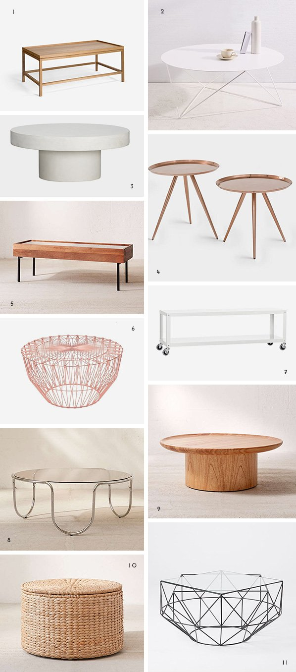 The Coolest Coffee Tables Under $500