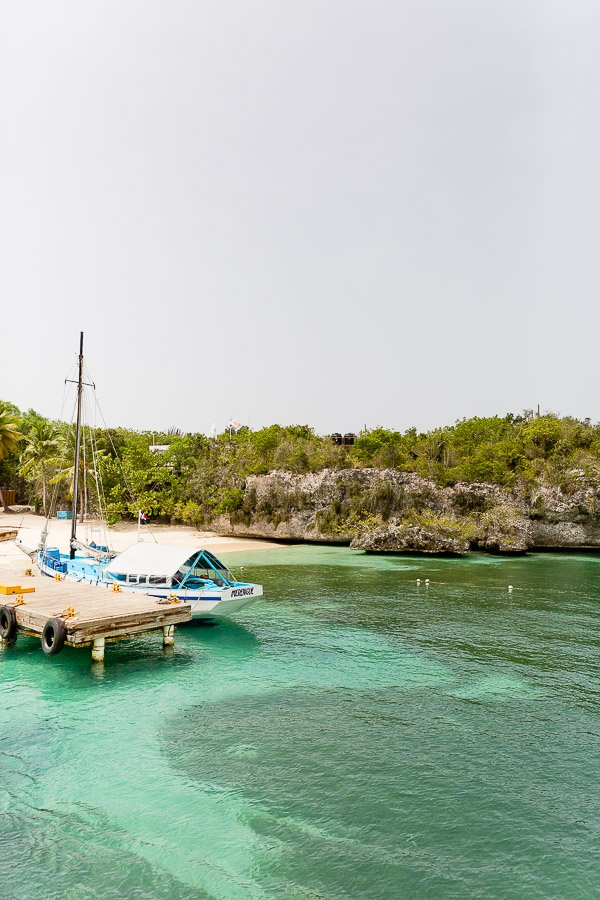 A trip to Catalina Island, Dominican Republic