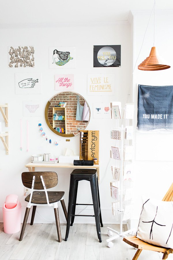 A peek into Gloss Goods, a boutique shop in the Riverside neighborhood of Jacksonville, FL.