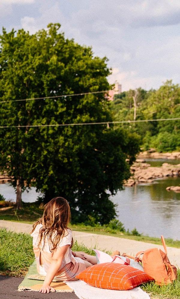 Picnic on the Chattahoochee River (Columbus, GA)