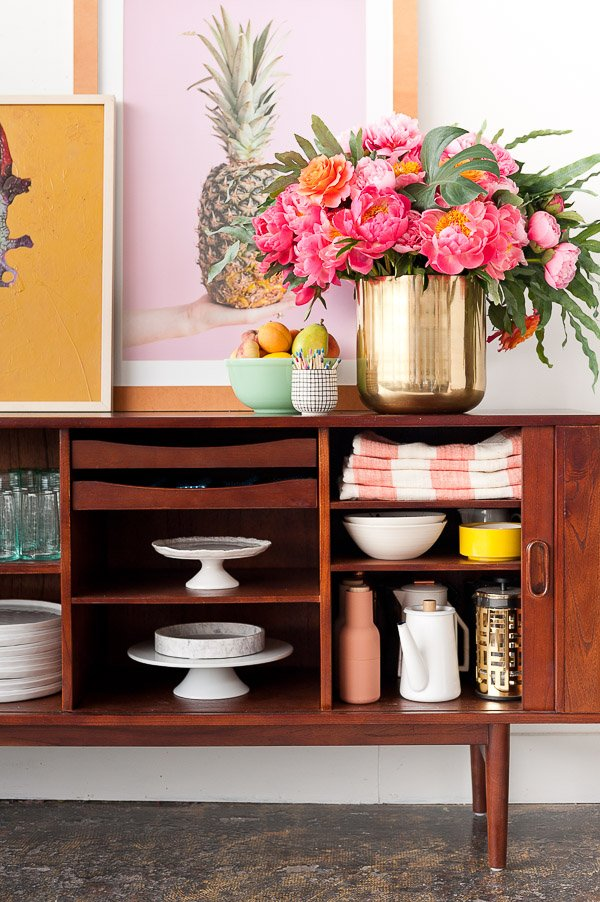 How to Style a (Mid-Century) Sideboard