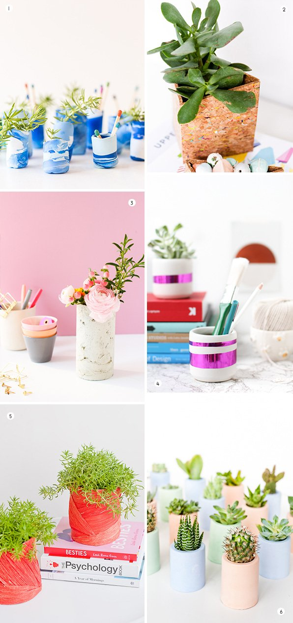 DIY vases that are perfect for mini flower arrangements